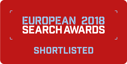 European Search Awards 2018 - Shortlisted